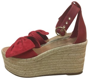 Valentino Red Wedges
