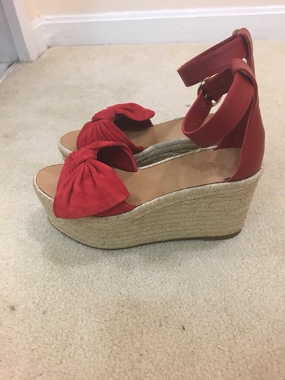 Valentino Red Wedges Image 10