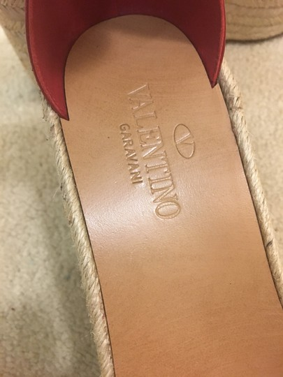 Valentino Red Wedges Image 2