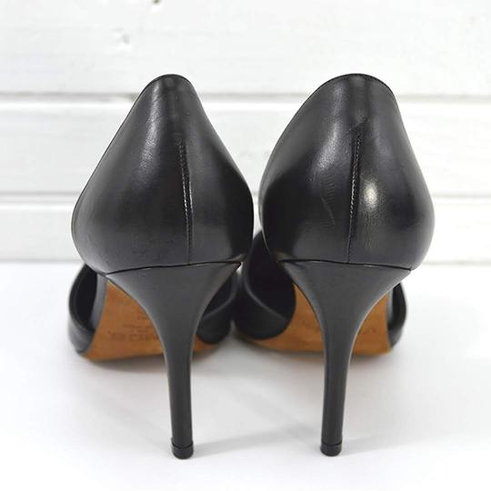 Vince #leather #pointed Toe #italian #modern #simple BLACK Pumps Image 3