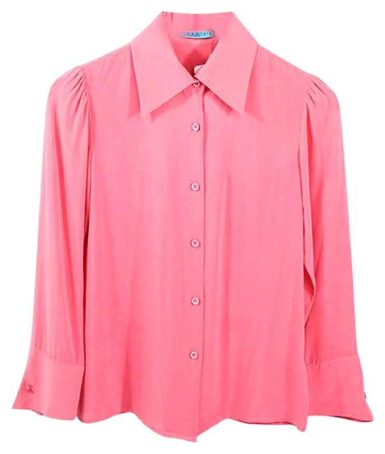 Item - Pink #186-14 Button-down Top Size 2 (XS)