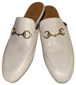 Gucci white Mules