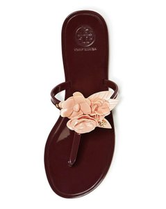 Tory Burch Dark Burgundy Sandals