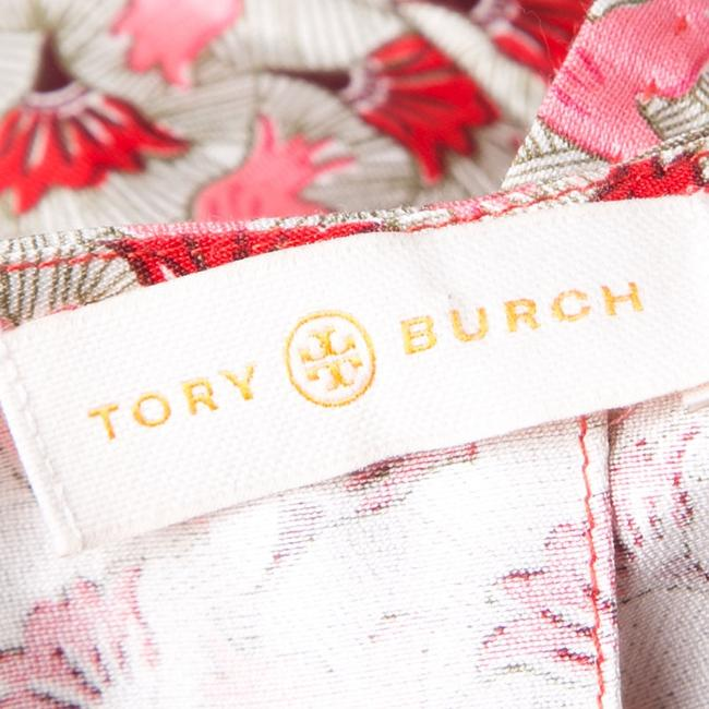 Tory Burch Silk Short Sleeve Top Multicolor Image 4