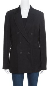 3.1 Phillip Lim Jute Silk Viscose Black Blazer