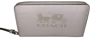 Coach Coach Large Leather Carriage Phone Wallet