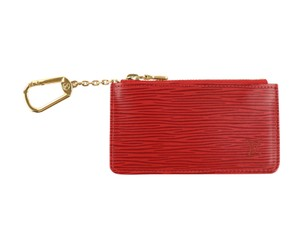 Louis Vuitton Louis Vuitton Red Epi Coin Pouch - item med img