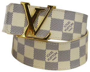 Louis Vuitton LOUIS VUITTON LV Ceinture Initial Belt Damier Azur