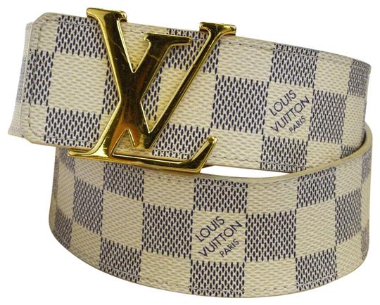 Louis Vuitton LOUIS VUITTON LV Ceinture Initial Belt Damier Azur Image 0
