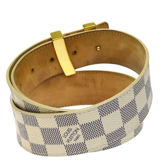 Louis Vuitton LOUIS VUITTON LV Ceinture Initial Belt Damier Azur Image 2