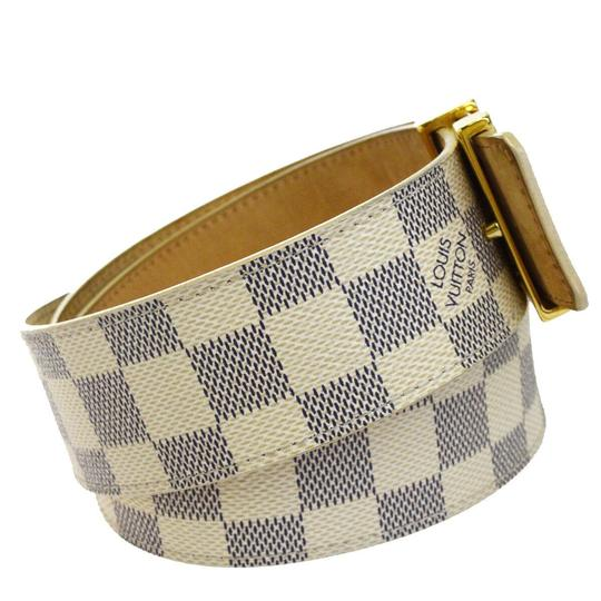 Louis Vuitton LOUIS VUITTON LV Ceinture Initial Belt Damier Azur Image 3