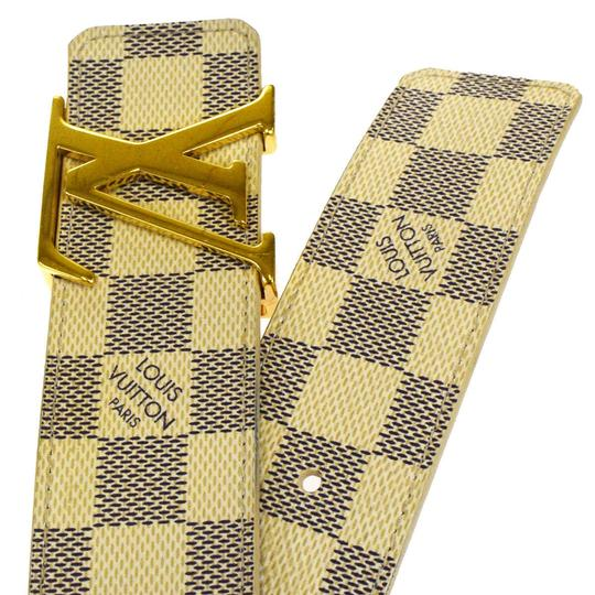 Louis Vuitton LOUIS VUITTON LV Ceinture Initial Belt Damier Azur Image 4