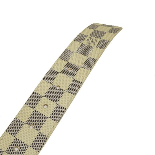 Louis Vuitton LOUIS VUITTON LV Ceinture Initial Belt Damier Azur Image 7