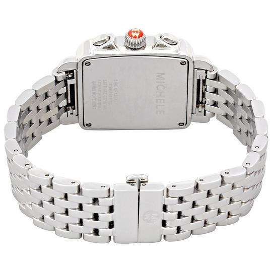 Michele Deco Stainless Steel Mother Of Pearl Diamond Dial Mww06p000014 Image 7