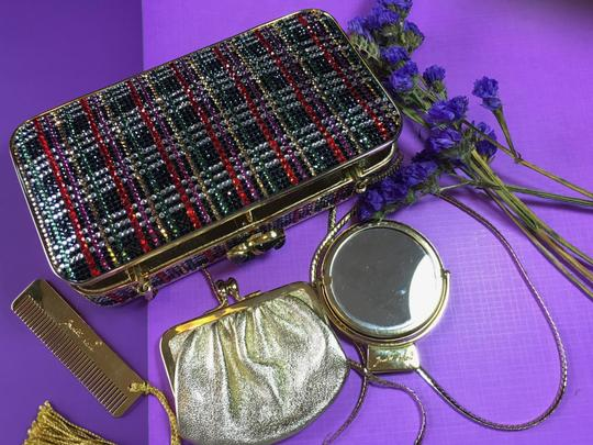 Judith Leiber Multi color Clutch Image 4