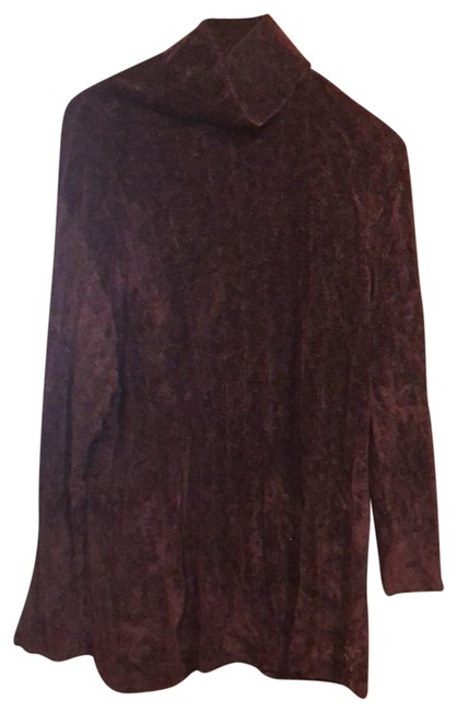 Preload https://img-static.tradesy.com/item/25833132/eileen-fisher-deep-large-ribbed-comfy-with-jeans-for-a-cozy-fall-day-priced-to-burgundy-sweater-0-1-650-650.jpg