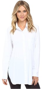 NEW DIRECTION Button Down Shirt White