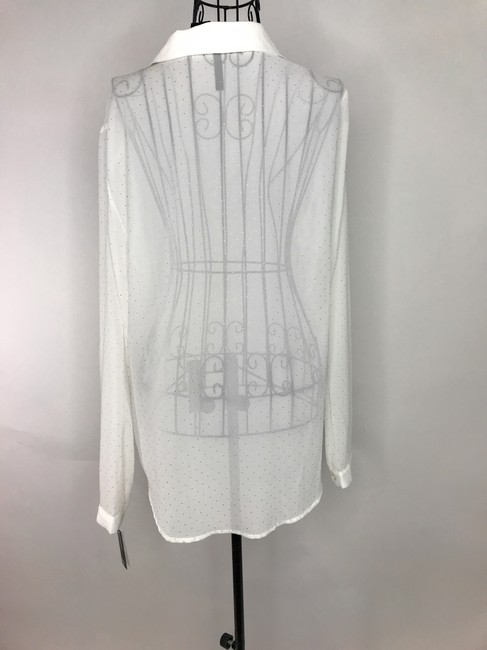 NEW DIRECTION Button Down Shirt White Image 5