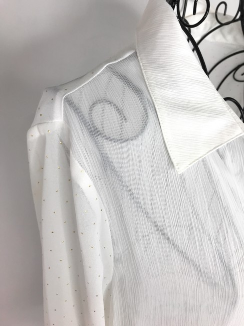 NEW DIRECTION Button Down Shirt White Image 8
