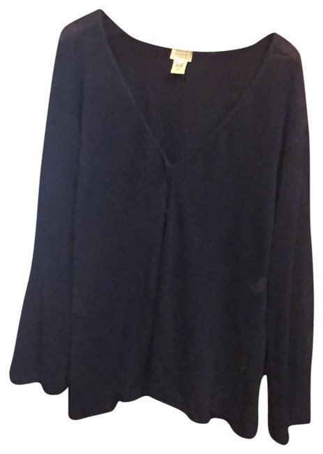 Preload https://img-static.tradesy.com/item/25833158/eileen-fisher-indigo-cardigan-size-12-l-0-1-650-650.jpg