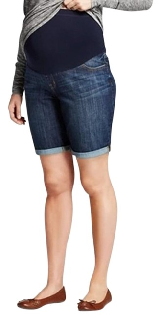 Liz Lange Maternity Blue Belly Waistband Maternity Denim Size 6 (S, 28) Liz Lange Maternity Blue Belly Waistband Maternity Denim Size 6 (S, 28) Image 1