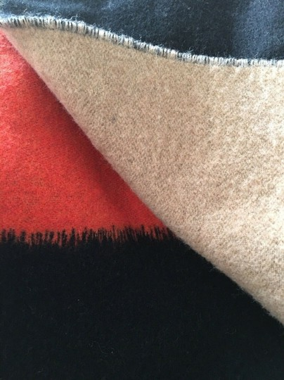 Eileen Fisher Ombre Wool Blend Fringe Scarf Image 2