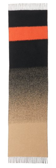 Eileen Fisher Ombre Wool Blend Fringe Scarf Image 5