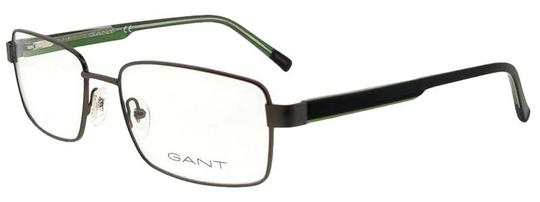 Gant GA3102-009-58 Rectangle Men's Gunmetal Frame Clear Lens Eyeglasses Image 0