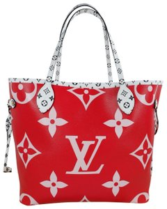 Louis Vuitton Tote in Red pink