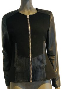 Anne Fontaine Leather Jacket