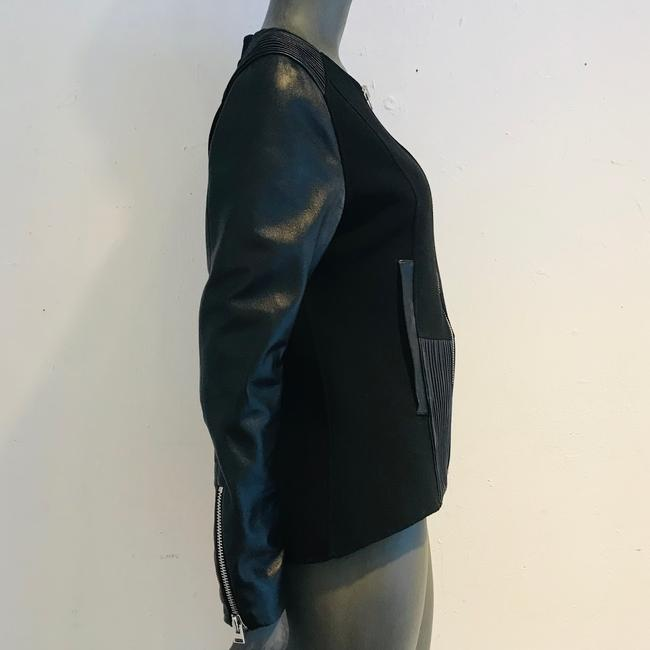Anne Fontaine Leather Jacket Image 1