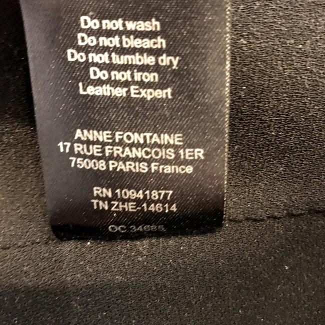Anne Fontaine Leather Jacket Image 10