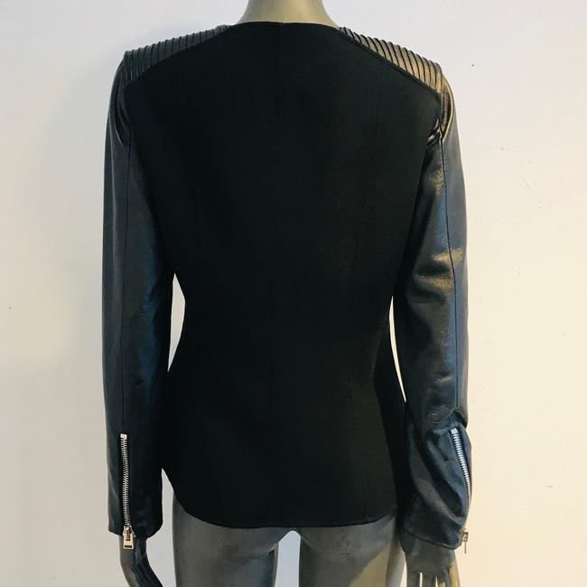 Anne Fontaine Leather Jacket Image 2