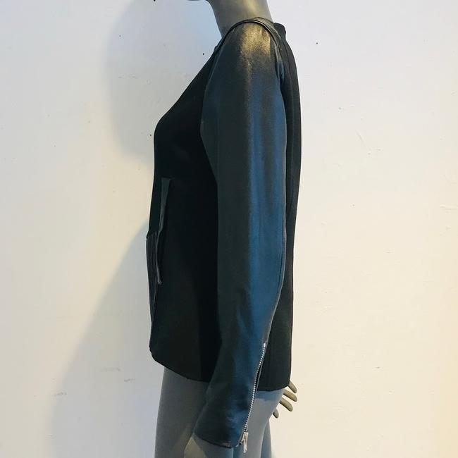Anne Fontaine Leather Jacket Image 3