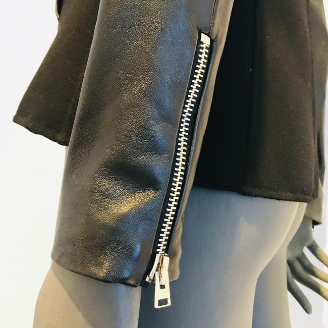 Anne Fontaine Leather Jacket Image 7