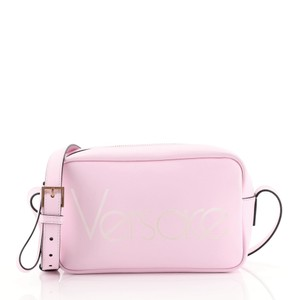 Versace Camera Leather Cross Body Bag