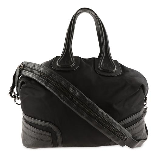 Preload https://img-static.tradesy.com/item/25833351/givenchy-large-nightingale-convertible-black-nylon-satchel-0-2-540-540.jpg
