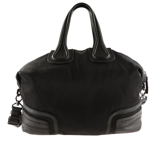 Givenchy Nightingale Leather Satchel in black Image 2