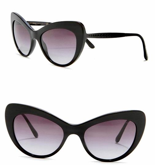 Preload https://img-static.tradesy.com/item/25833363/dolce-and-gabbana-black-cat-eye-crystal-pave-sunglasses-0-0-540-540.jpg