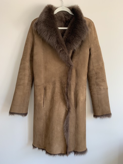Joseph Fur Coat Image 1