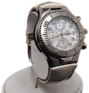 TeenBell TECHNO SPORT by Technomarine 200m 660 ft MOP Stainless Chronograph