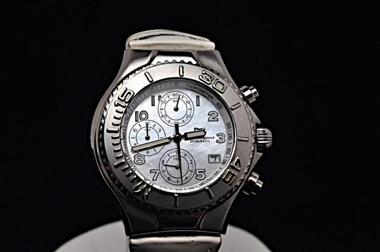 TeenBell TECHNO SPORT by Technomarine 200m 660 ft MOP Stainless Chronograph Image 2
