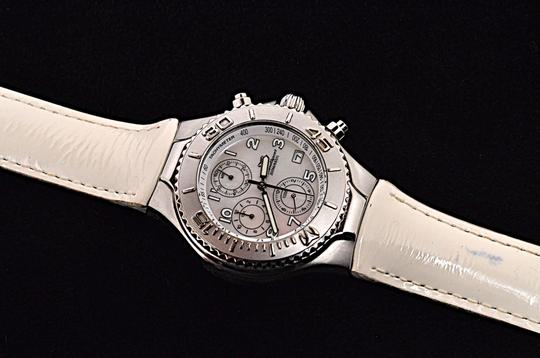 TeenBell TECHNO SPORT by Technomarine 200m 660 ft MOP Stainless Chronograph Image 3