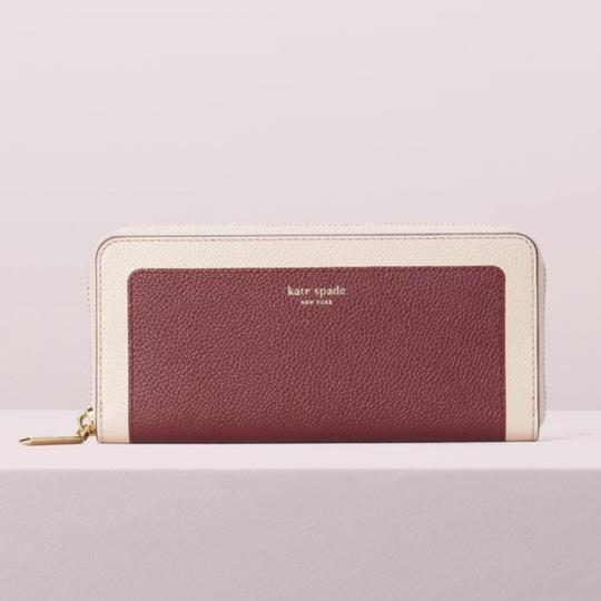 Kate Spade Kate Spade Margaux Slim Leather Continental Wallet Image 4