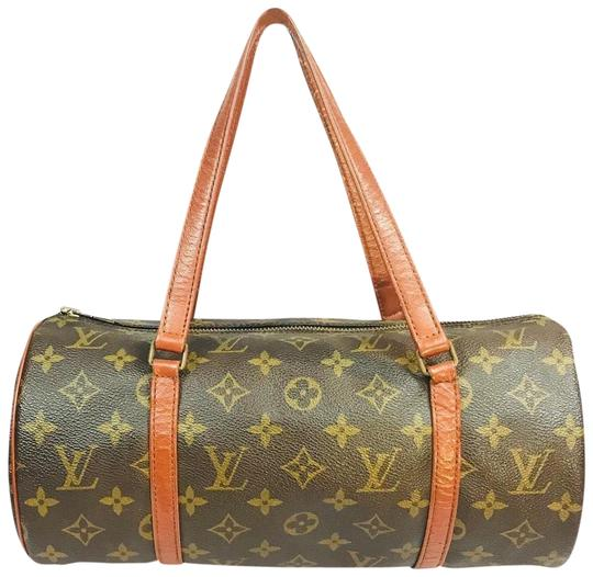 Preload https://img-static.tradesy.com/item/25833553/louis-vuitton-speedy-monogram-papillion-barrel-brown-canvas-satchel-0-1-540-540.jpg