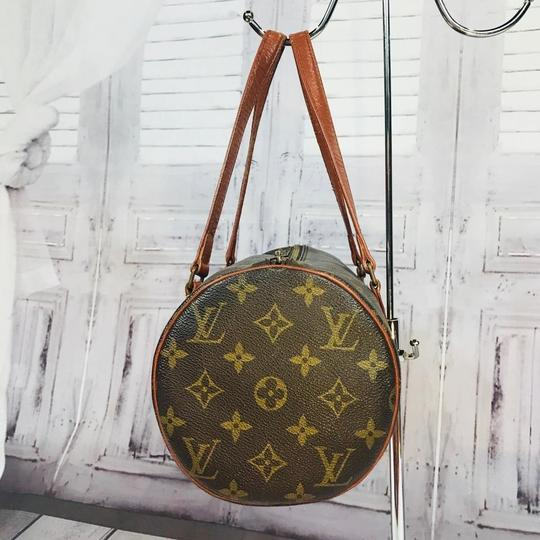 Louis Vuitton Speedy Doctor Purse Duffle Travel Vintage Rare Initial Logo Purse Handbag Gift Logo Satchel in Brown Image 4