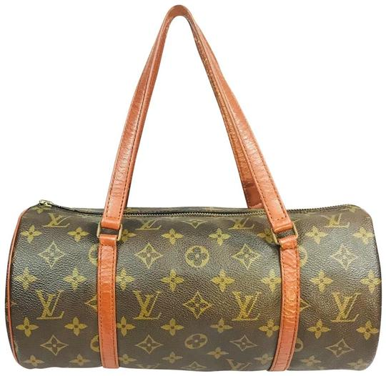 Louis Vuitton Speedy Doctor Purse Duffle Travel Vintage Rare Initial Logo Purse Handbag Gift Logo Satchel in Brown Image 6