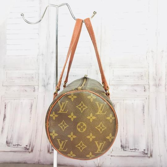 Louis Vuitton Speedy Doctor Purse Duffle Travel Vintage Rare Initial Logo Purse Handbag Gift Logo Satchel in Brown Image 7
