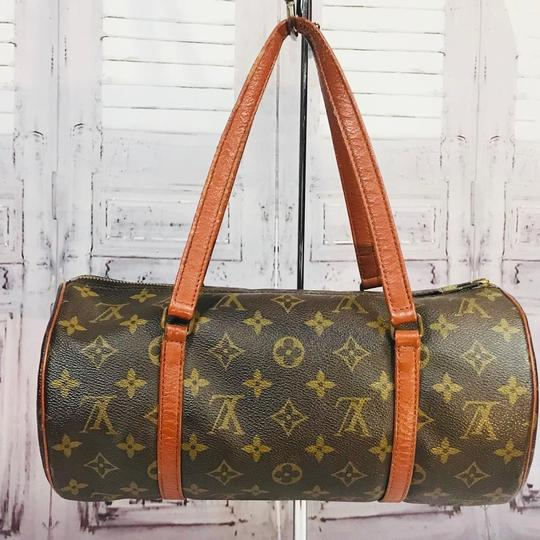 Louis Vuitton Speedy Doctor Purse Duffle Travel Vintage Rare Initial Logo Purse Handbag Gift Logo Satchel in Brown Image 8
