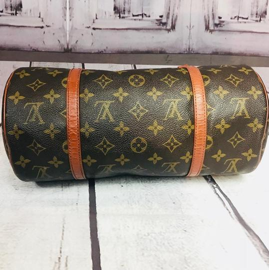 Louis Vuitton Speedy Doctor Purse Duffle Travel Vintage Rare Initial Logo Purse Handbag Gift Logo Satchel in Brown Image 9